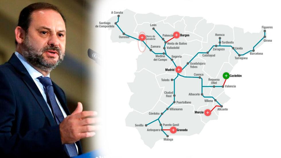 En 2018 solo se estrenó el tren de alta velocidad a Castellón, inaugurado en enero pasado de forma chapucera.