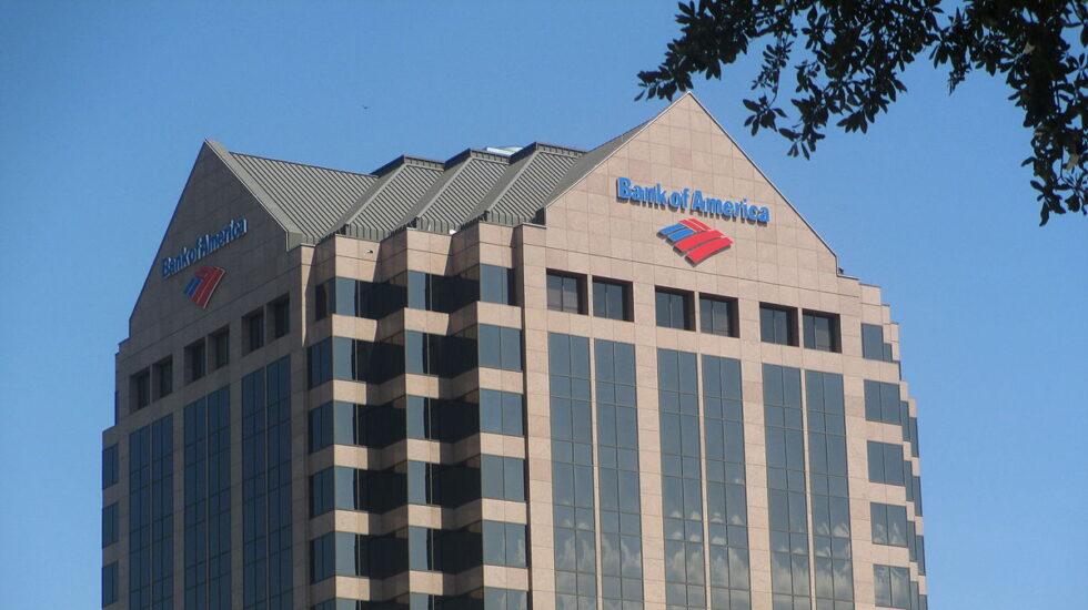 Fachada de uno de los edificios de Bank of America.