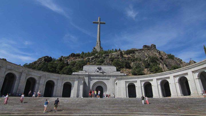 Basílica del Valle de los Caídos donde se encuentra la tumba de Franco.
