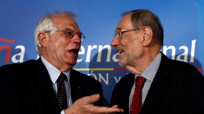 Josep Borrell y Javier Solana.