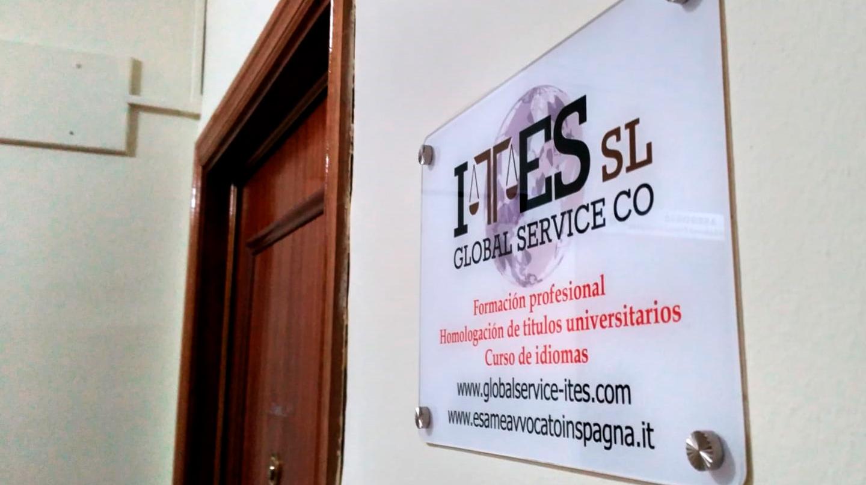 Sede de la empresa Global Service Co Ites SL, el supuesto domicilio profesional de varias decenas de abogados italianos colegiados en Madrid.