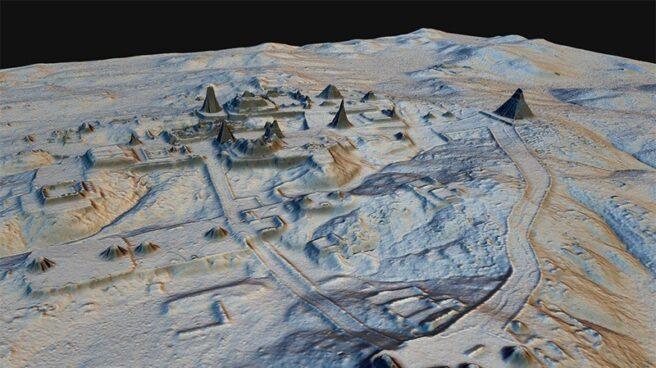 Infraestructuras mayas reveladas por láser desde el cielo