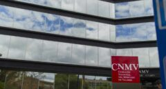 Fachada de la sede de CNMV en Madrid.
