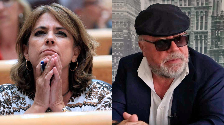 Dolores Delgado y José Manuel Villarejo