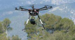 Tecnología dron para reforestar España