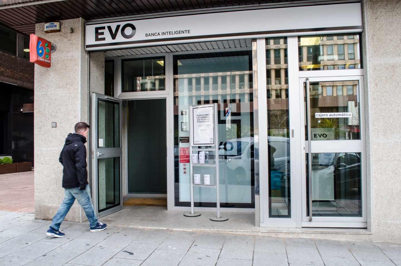 Sucursal de Evo Banco.