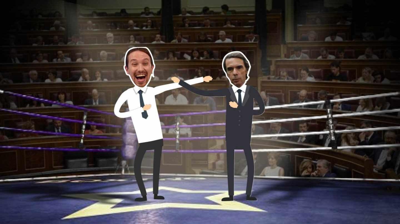 Aznar en el ring del Congreso