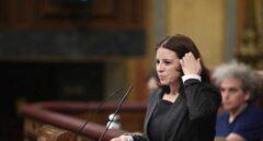 La portavoz del grupo parlamentario socialista, Adriana Lastra.