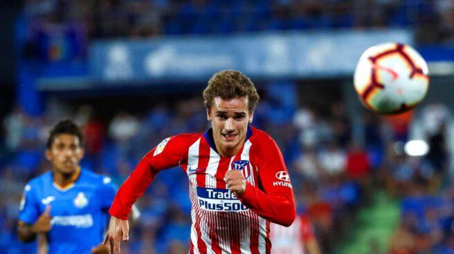 El jugador del Atlético de Madrid Antoine Griezmann.