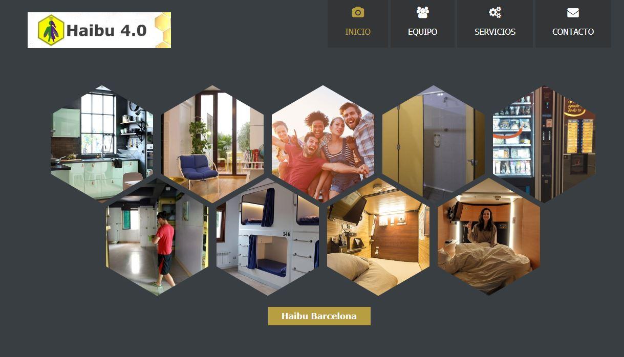 La empresa Haibu ofrece cápsulas en Barcelona por 250 euros al mes.