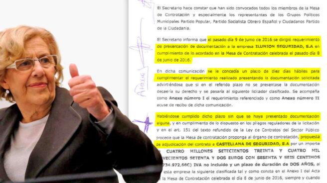 El Ayuntamiento de Madrid quitó a Ilunion (ONCE) el concurso de seguridad de la EMVS en junio de 2016.