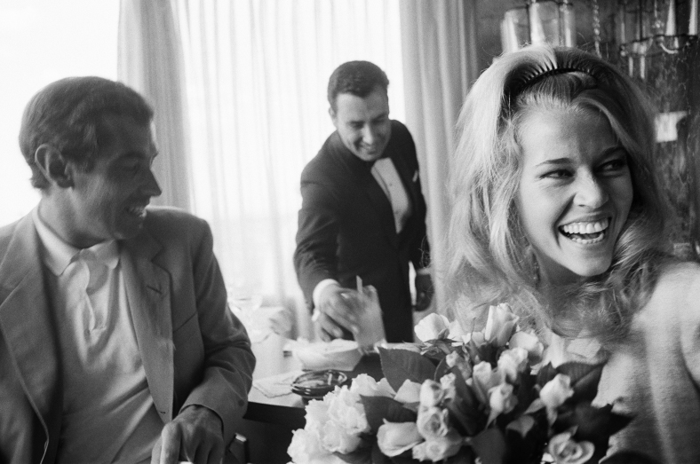 Jane fonda con Roger Vadim.