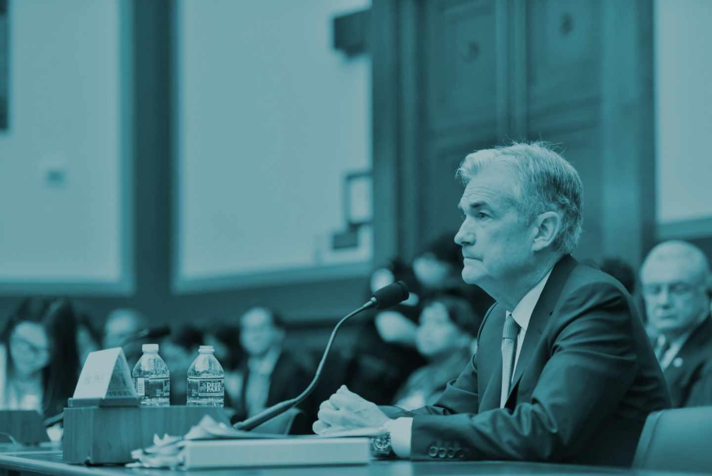 El presidente de la Reserva Federal de EEUU (Fed), Jerome Powell.