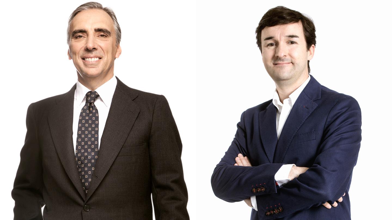 Juan Asua y Ricardo Forcano