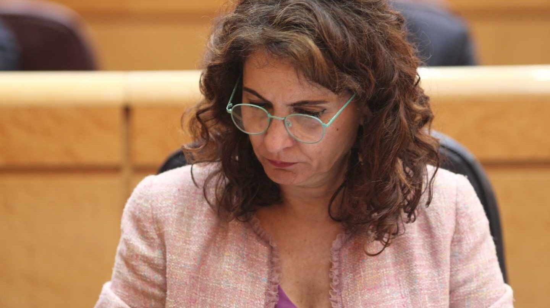 La ministra de Hacienda, María Jesús Montero.
