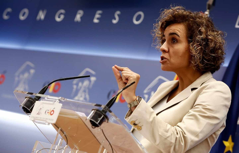 La portavoz del PP en el Congreso de los Diputados, Dolors Montserrat.