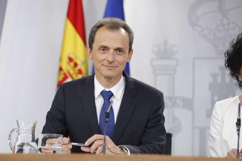 El ministro Pedro Duque.