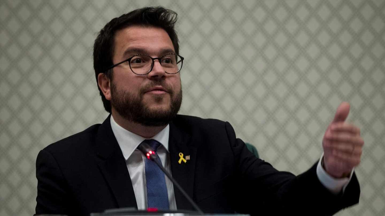 Pere Aragonés, vicepresidente del Govern y consejero de Economía.