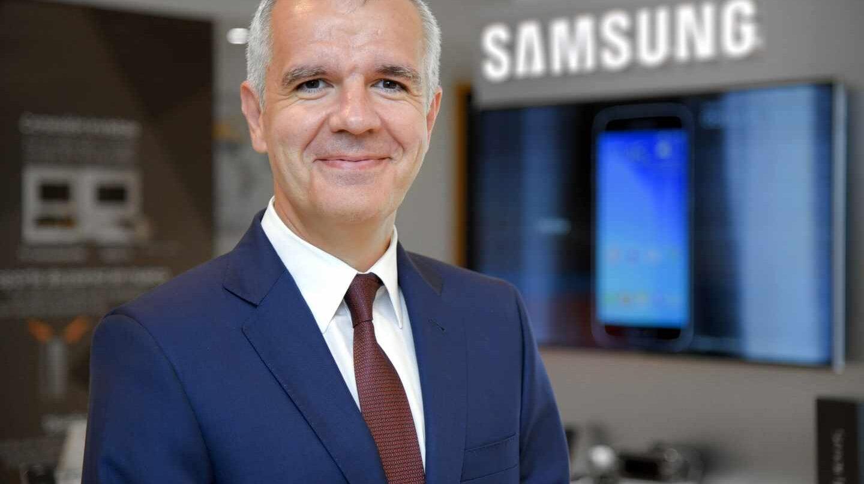 El vicepresidente corporativo de Samsung en España, Celestino García.