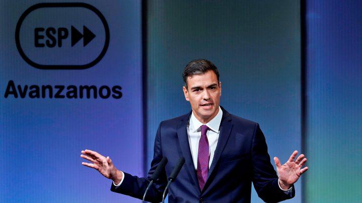 Pedro Sánchez en la Casa de América