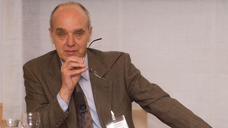 Santiago Pérez Camarero, uno de los integrantes del tribunal que evaluó la tesis de Pedro Sánchez.