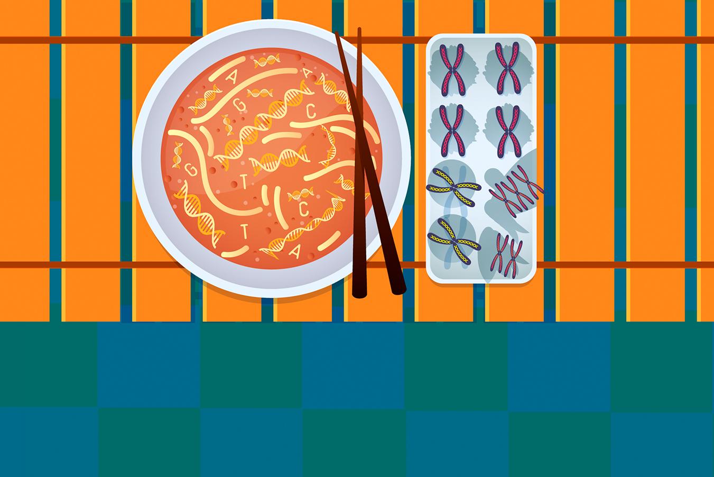 La nutrición del futuro: dietas a la medida de tus genes