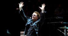 Bono durante el concierto de Madrid.