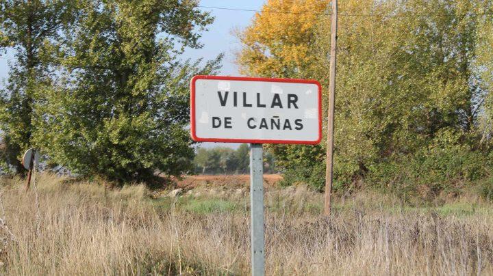 El municipio de Villar de Cañas, en Cuenca, donde está previsto construir el almacén de residuos nucleares.