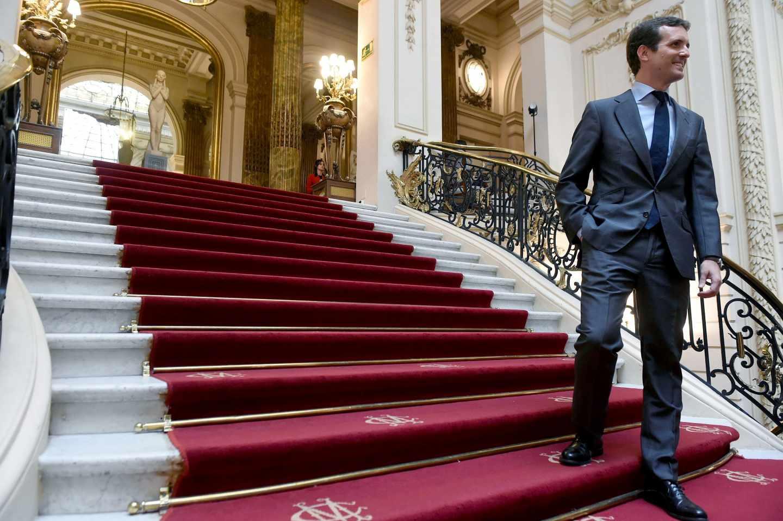 Pablo Casado, en el Foro ABC-Deloitte.