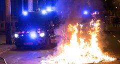Disturbios en Barcelona en el primer aniversario del 1-O.