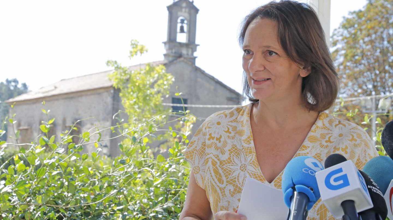 Carolina Bescansa, candidata a liderar Popdemos Galicia.