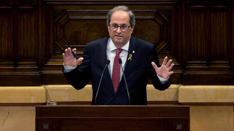 Quim Torra, presidente de la Generalitat.