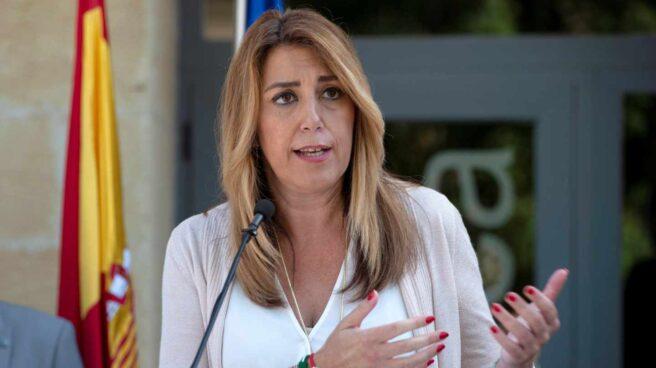 Susana Díaz, en un acto en Alcalá la Real (Jaén).