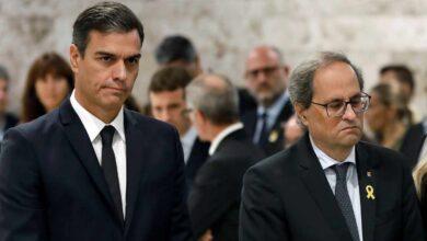 Torra secuestra la legislatura de Sánchez