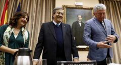 Escudero, Álvarez Cascos y Quevedo, en el Congreso.