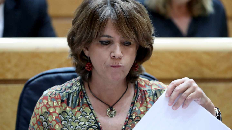 La titular socialista de Justicia, Dolores Delgado