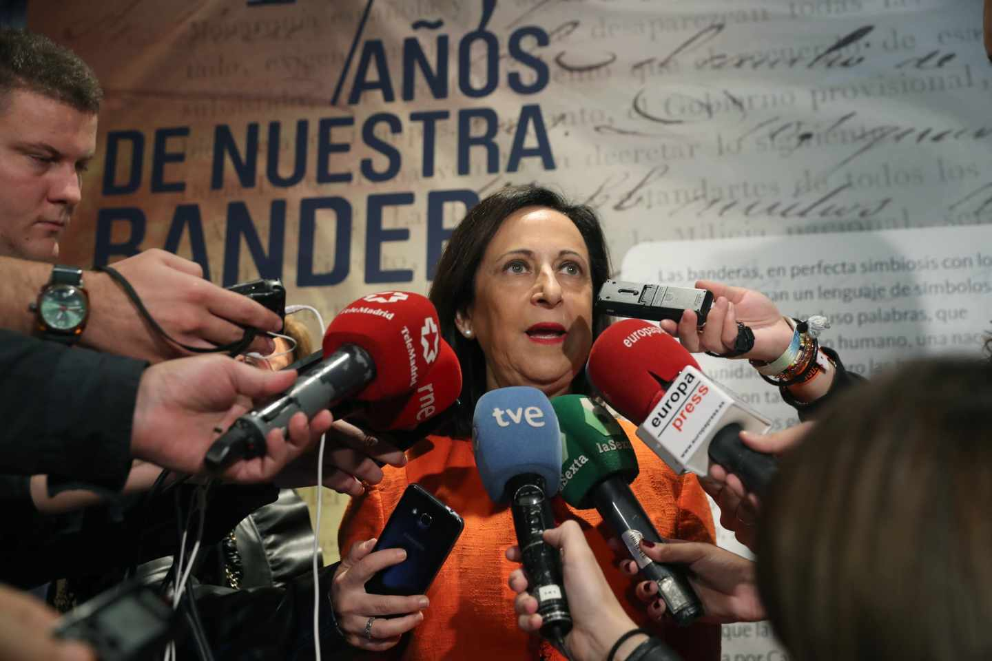 La ministra de Defensa, Margarita Robles.