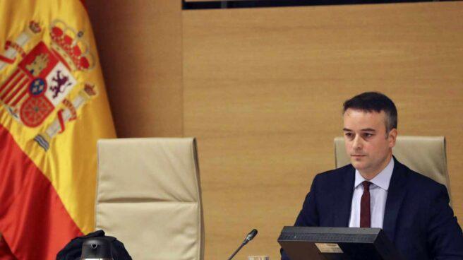 El director del gabinete del presidente del Gobierno, Iván Redondo, en el Congreso.