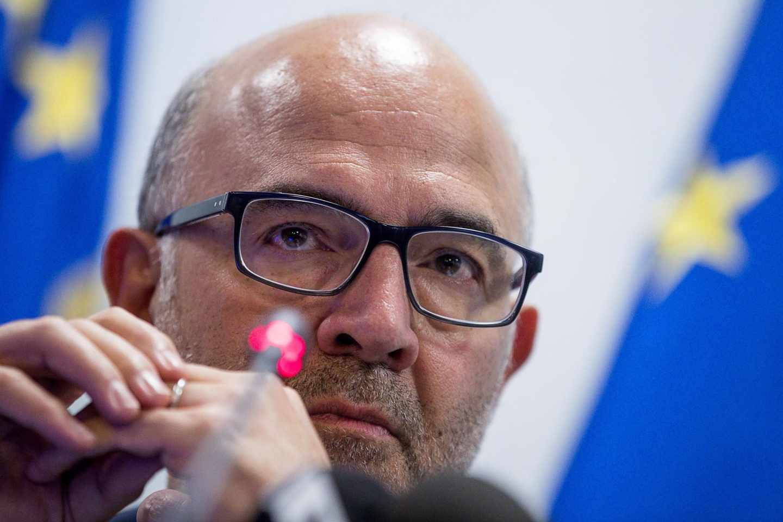 El comisario europeo de Asuntos Económicos, Pierre Moscovici.