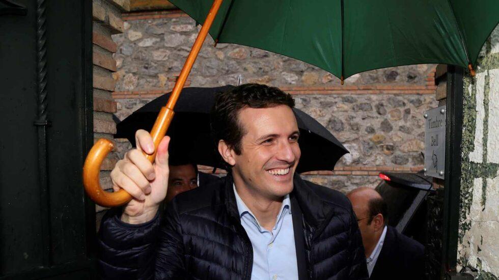 Pablo Casado, en un acto en Granada.