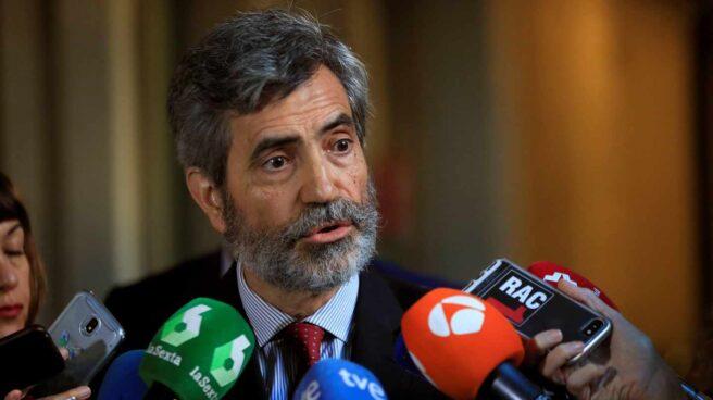 Carlos Lesmes, presidente del Tribunal Supremo.