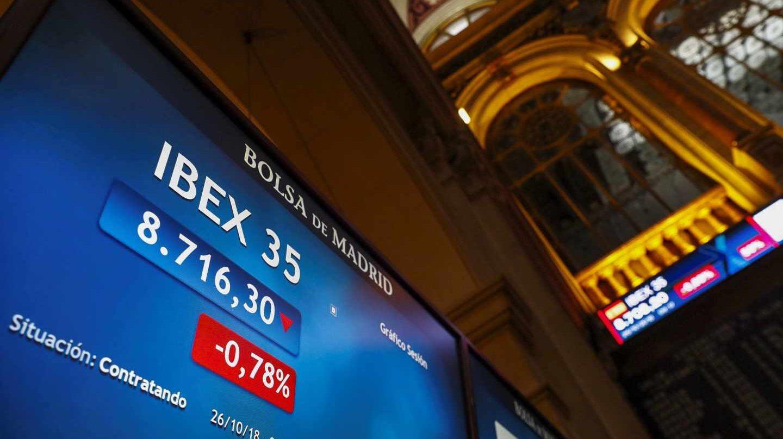 El Ibex se agarra a las cuentas empresariales para maquillar el golpe del 'octubre rojo'.