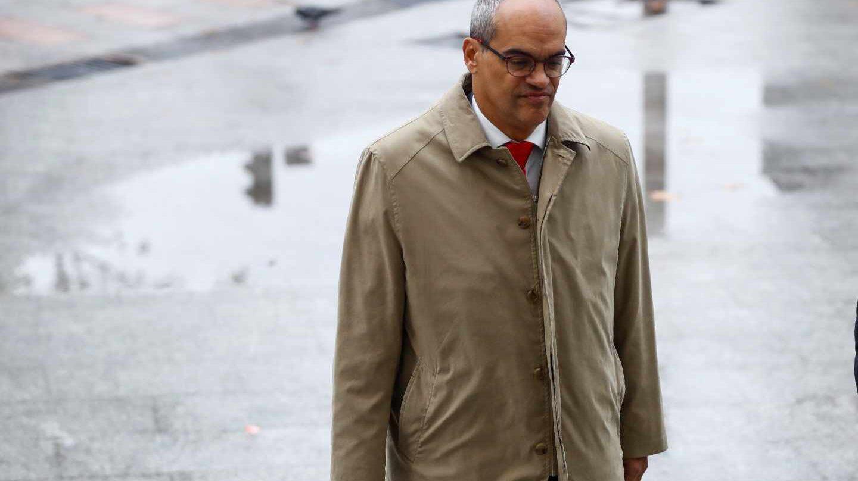 El consejero de Educación de la Comunidad de Madrid, Rafael Van Grieken a su llegada a los juzgados de la Plaza de Castilla