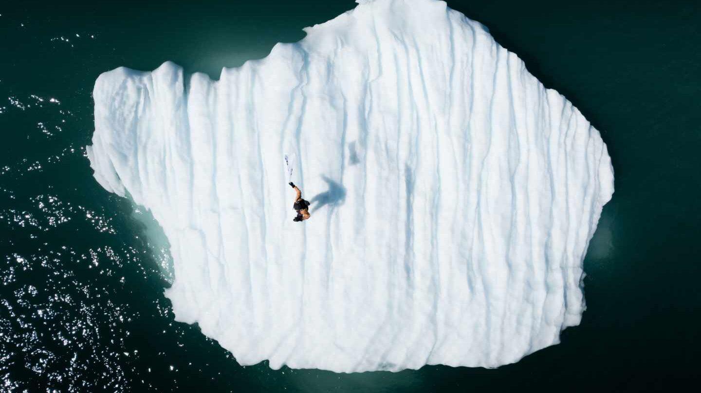 """Una de las fotografías del proyecto artístico """"Iceberg Nations"""", de Rubén Martín de Lucas en"""