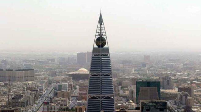 Recreación de Al Faisaliya, uno de los grandes proyectos para expandir la ciudad sagrada de La Meca.