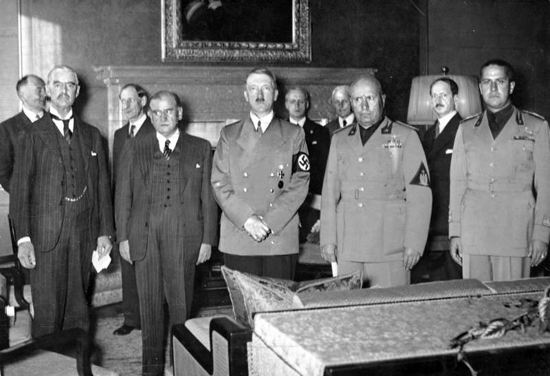 El pacto de Munich: donde Hitler olió el miedo de Europa.