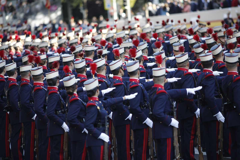 Desfile del 12 de octubre en Madrid,