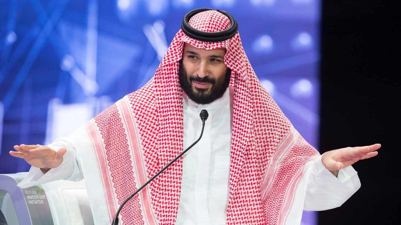 Ana Alonso Desnuda el príncipe heredero saudí, al desnudo