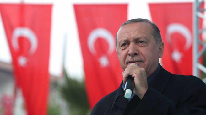 El presidente turco, Recept Tayyip Erdogan,en un acto reciente en Estambul.
