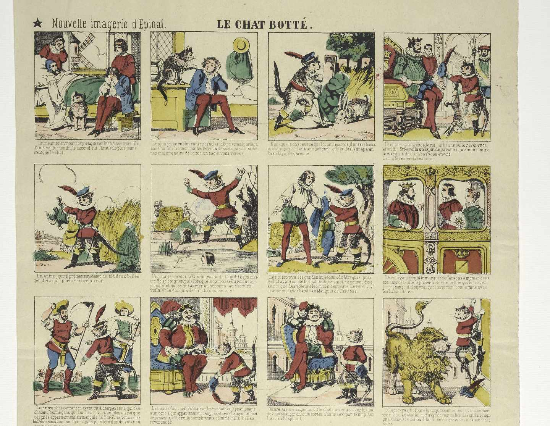 Cómic de El gato con botas, Le Chat Botté s. XIX